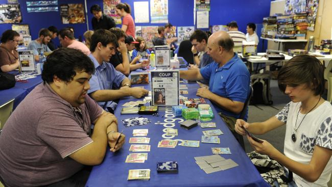 A Pokemon card game tournament in Australia (dailytelegraph.com.au)