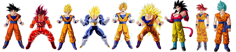 A description of Saiyan forms, and why Super Saiyan 4 isn't so ...