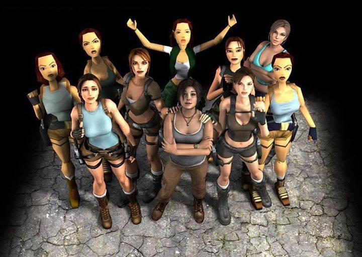 Many_Faces_of_Lara