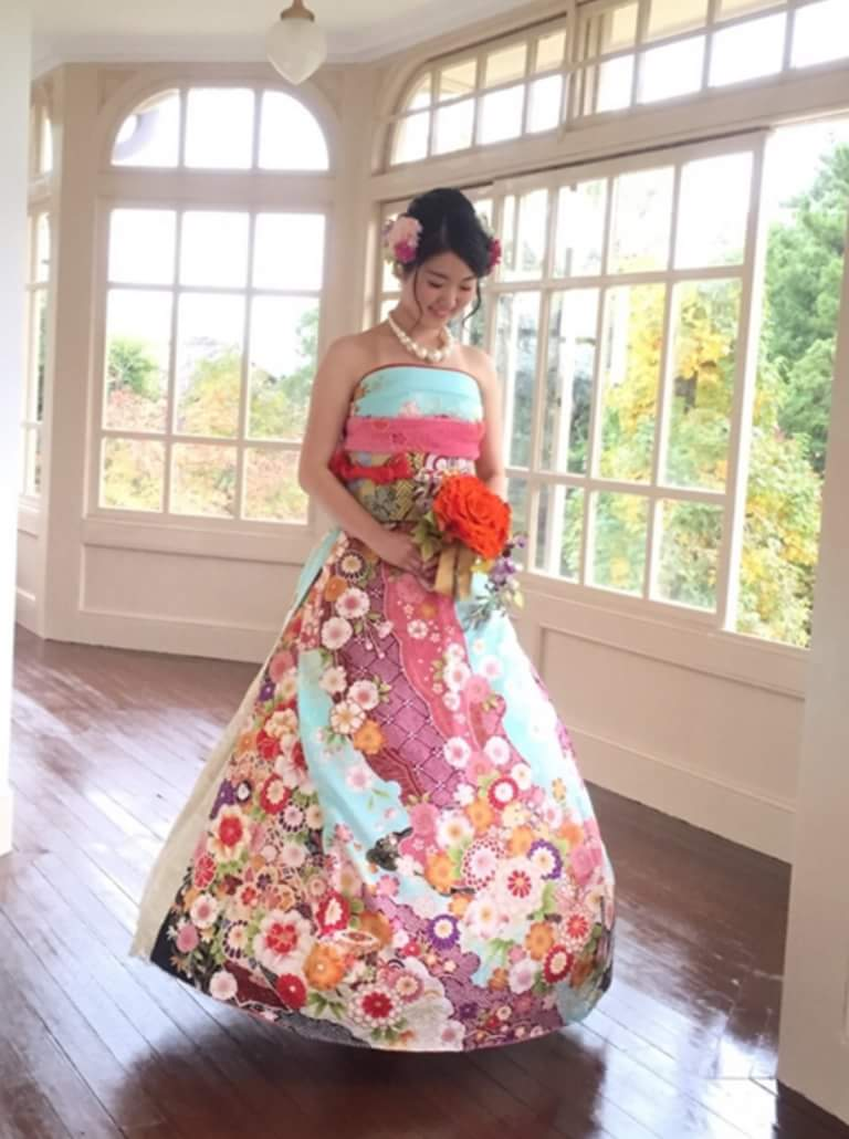 A Furisode Is Dress Traditionally Purchased For Woman By Her Parents To Show She Of Marrying Age So What Better Symbol Getting Married