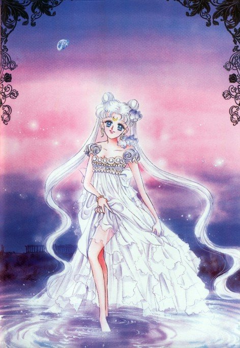 Original art by Sailor Moon Creator Naoko Takeuchi