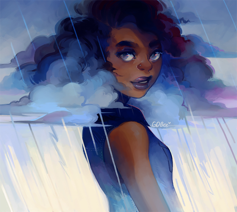 Looks Like Rain by GDBEE